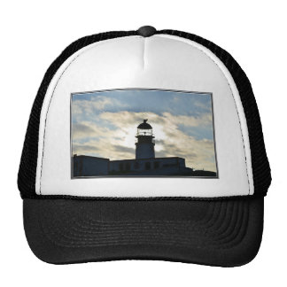 Silhouetted Lighthouse Hats