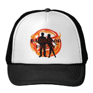 Silhouettes Bachelor Party Tshirts and Gifts Trucker Hat