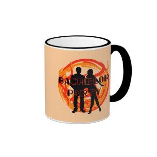 Silhouettes Bachelor Party Tshirts and Gifts Coffee Mug