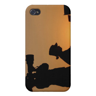 Silhouettes iPhone 4/4S Case