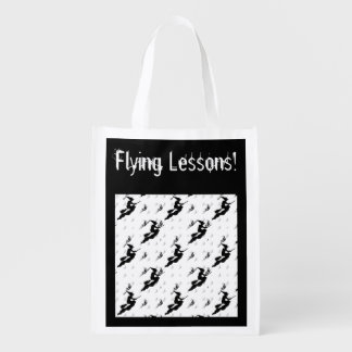 "Silhouettes of Black Witches in ""Flying Lessons"""