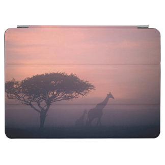 Silhouettes Of Giraffes iPad Air Cover