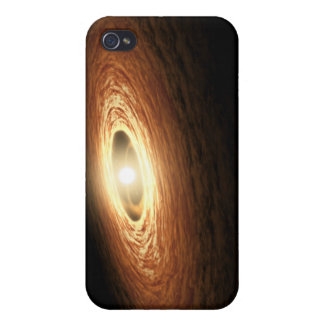Silicate Crystal Formation iPhone 4/4S Covers