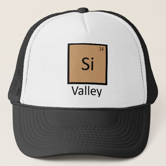 Silicon Valley Chemistry Periodic Table Pun Cap