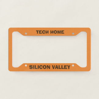 Silicon Valley License Plate Frame