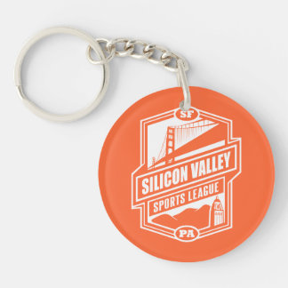 Silicon Valley Sports League Acrylic Key Chains