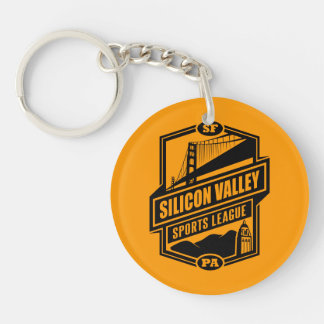 Silicon Valley Sports League Key Chain