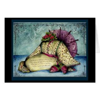 Silk 12th year Wedding Anniversary gift card