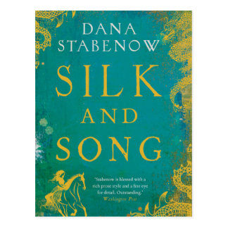 Silk and Song postcard
