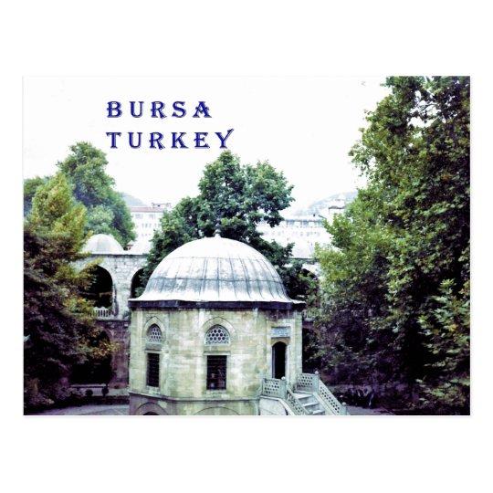 Silk Bazaar Courtyard in Bursa Postcard