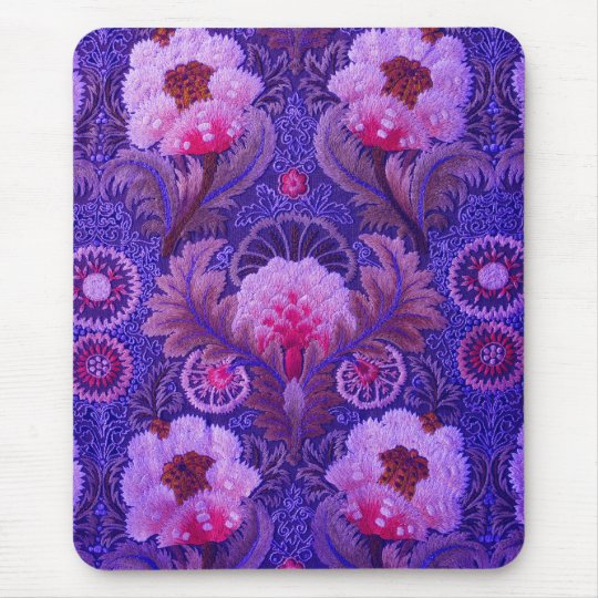 Silk Boho Purple Mouse Mat