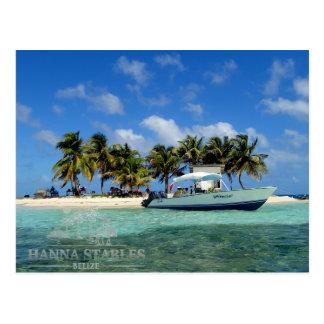 Silk Cayes at Gladden Spit, Belize Postcard