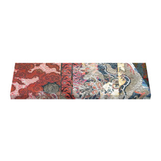 Silk Dragon Tapestry Canvas Print