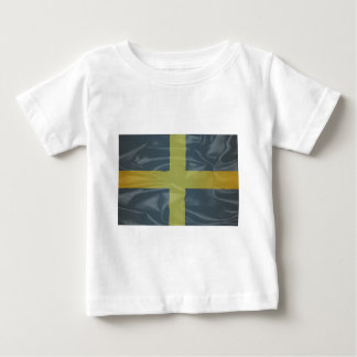Silk Flag of Saint David Of Wales Baby T-Shirt