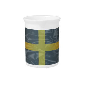 Silk Flag of Saint David Of Wales Pitcher