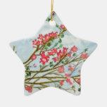 Silk floss tree flowers christmas ornaments