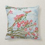 Silk floss tree flowers pillows