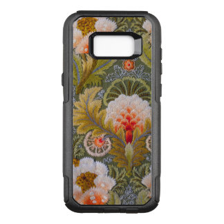 Silk Green Embroidery Art OtterBox Commuter Samsung Galaxy S8+ Case