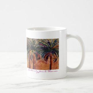 Silk Palms Mug