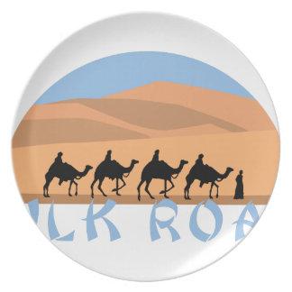 Silk Road Dinner Plates