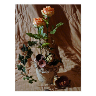 Silk Roses Postcards