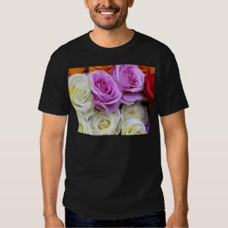 silk roses tee shirts