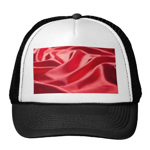 silk silky chic red pink cafe style textile love mesh hats