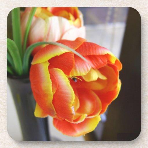 Silk Tulip Coasters
