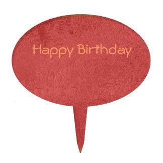 Silken Diva - Happy Birthday Sweet Sivah Cake Toppers