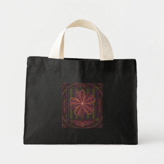 Silken Flowers Wedding Mini Tote Bag