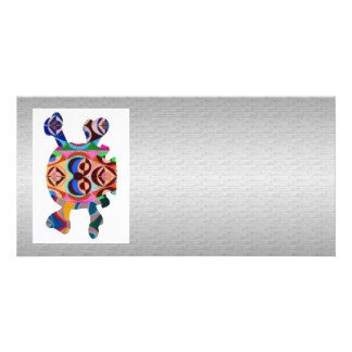 Silken Silver Base n Art101 Graphic Skull  Image Picture Card