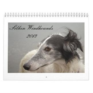 Silken Windhounds 2013-2 Wall Calendar