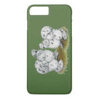 Silkie Bantam Splash Chickens iPhone 7 Plus Case