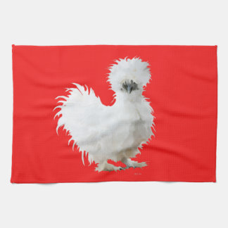 Silkie Chicken Tea Towel