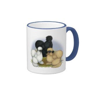 Silkie Trio Ringer Mug
