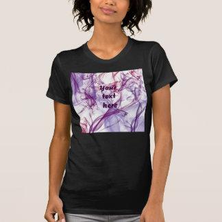 Silky Abstract Tee Shirts