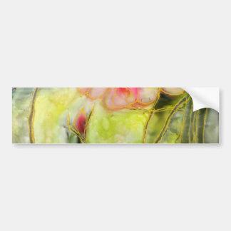 Silky Almond Flower Bumper Stickers