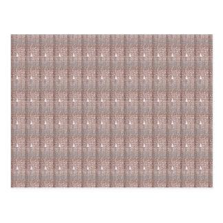Silky Creamy Sparkle Jewel Pattern GIFTS Postcard