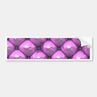 silky reflection,pink (I) Bumper Sticker