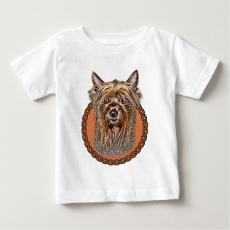 Silky Terrier 001 Baby T-Shirt