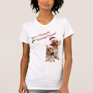 Silky Terrier Christmas Nightshirt Shirts