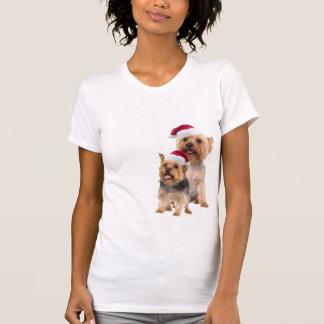 Silky Terrier Christmas Nightshirt T-shirts