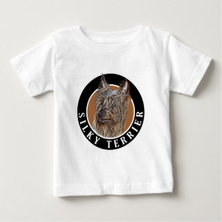 Silky Terrier Dog 002 Baby T-Shirt
