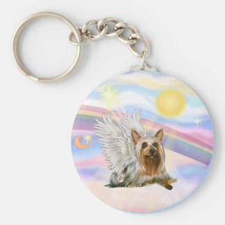 Silky Terrier Key Ring