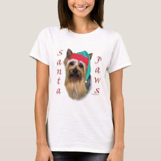 Silky Terrier Santa Paws T-Shirt
