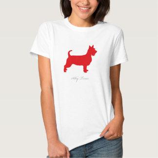 Silky Terrier T-shirt (red short hair)