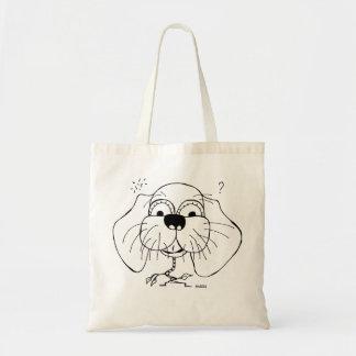 Sillu Puppy Budget Tote Bag