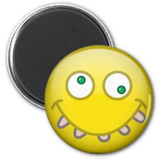 Silly 6 Cm Round Magnet