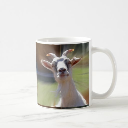 Silly BillyGoat Photograph Coffee Mug