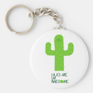 Silly Cactus Keychain